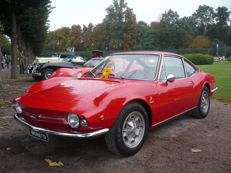 MORETTI 850 Special Sportiva SS 1968 Schwetzingen (1)