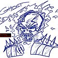 Anciens dessins - ghost rider