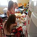 Les filles en cuisine :-)