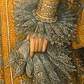 Portrait of isabella clara eugenia, archduchess of austria by frans pourbus the younger (detail), 1598-1600