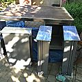 bureau metal desk metallique