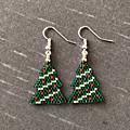 4 paires de boucles d'oreilles spécial Noël