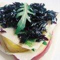 feuilleté de foie gras et