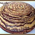 Notre gâteau zébré - cuisine facile