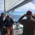 Croisières d'entraînement - De Pag à Punat (île <b>Krk</b>) - 9 mars 2020 - Training cruise, from Pag to Punat (by Velebitski Kanal)