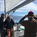 <b>Croisières</b> <b>d</b>'<b>entraînement</b> - De Pag à Punat (île Krk) - 9 mars 2020 - Training cruise, from Pag to Punat (by Velebitski Kanal)