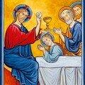 10- L'Insitution de l'Eucharistie