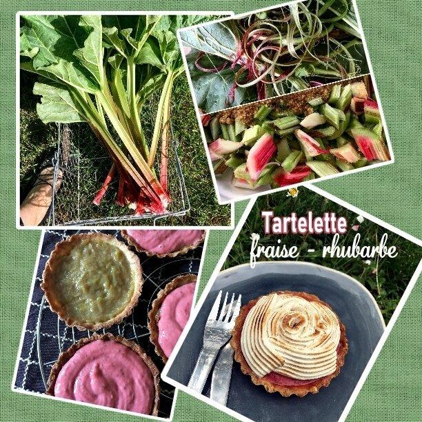 tartelette fraise rhubarbe meringuée étapes (SCRAP)