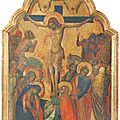 Lorenzo Veneziano (active Venice, 1356-1379), The <b>Crucifixion</b>