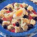Salade de chou-fleur aux olives