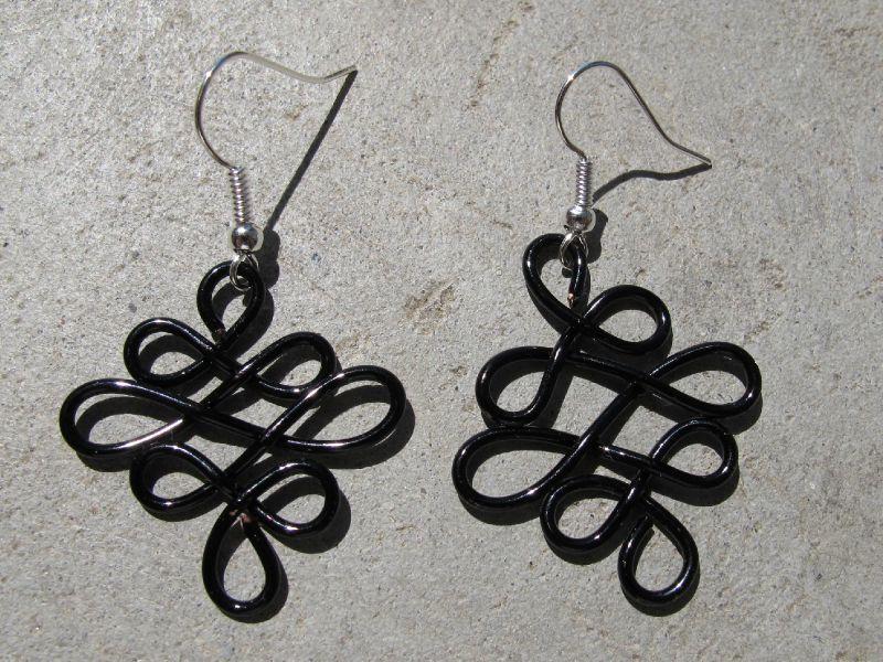 BO losange wire noir
