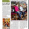 Le vin devant soi dans la revue du vin de france
