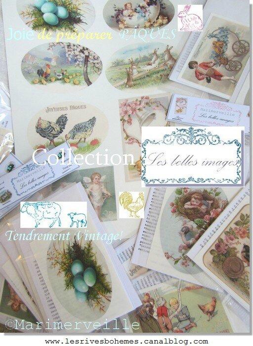 collection transferts les belles images de Pâques ©Marimerveille