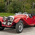 <b>1938</b> Jaguar SS100 3½-Litre roadster