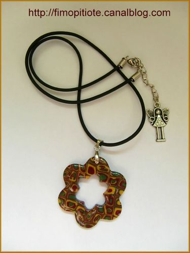 collier bijoux bracelet pate fimol (42)