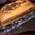 Cake marbré au chocolat noir
