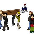 Un mariage et un enterrement...
