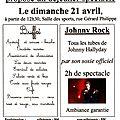 Déjeuner spectacle <b>Johnny</b> <b>Rock</b>