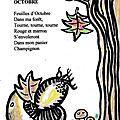 Comptine d'octobre n° 3