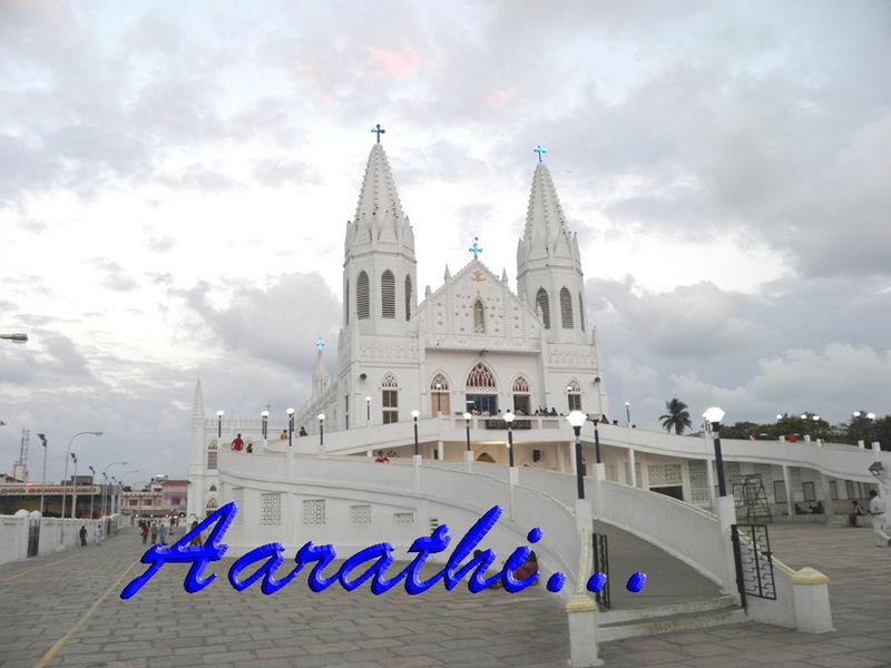 Velankanni Church Back View