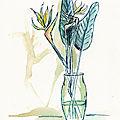 Encre et aquarelle - ink and watercolor - etudes