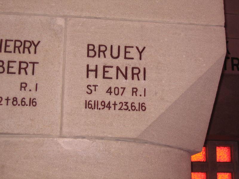 BRUEY Aristide Marius Henri