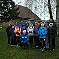 Marche Nordique Forêt de Roumare 7 Décembre 2014