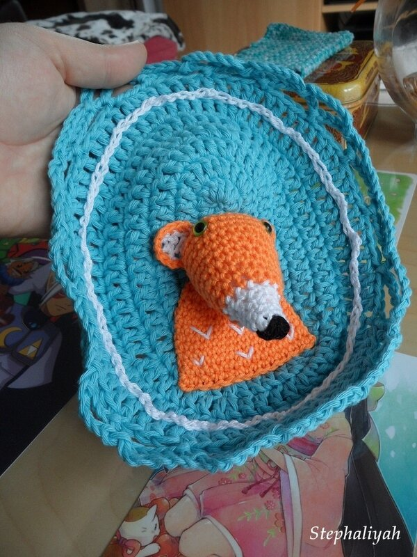 Cadre renard crochet - 4