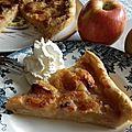 Tarte d'yport (variante au caramel de pommes)