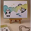 Blog hop de la stampin'class spécial pandas festifs !