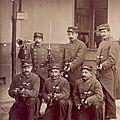 Manoeuvre à la <b>Courtine</b> dela 17e division d'infanterie