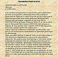 MONTOCCHIO HENRI X ANTELME_Transcription Acte de mariage 1840
