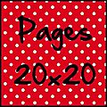 Pages 20x20cm