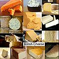 Les <b>fromages</b> anglais