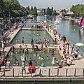Paris : le <b>bassin</b> de la <b>Villette</b> est ouvert !