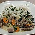 Curry vert de bœuf thaï au thermomix