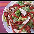 Salade caesaro comme l'a appelé monsieur.