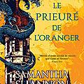 [CHRONIQUE] Le prieuré de l'oranger de <b>Samantha</b> <b>Shannon</b>