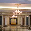 Les lustres du palais du protocole