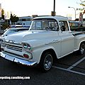Chevrolet apache 31 stepside de 1958 (Rencard Burger King septembre 2012) 01