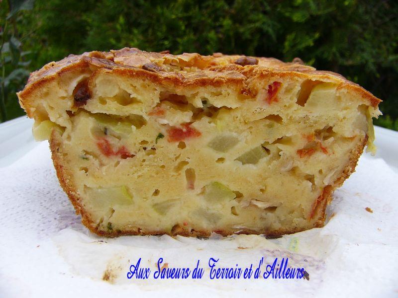 Cake Au Lardon Courgette