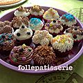 Cupcakes chocolat vanille