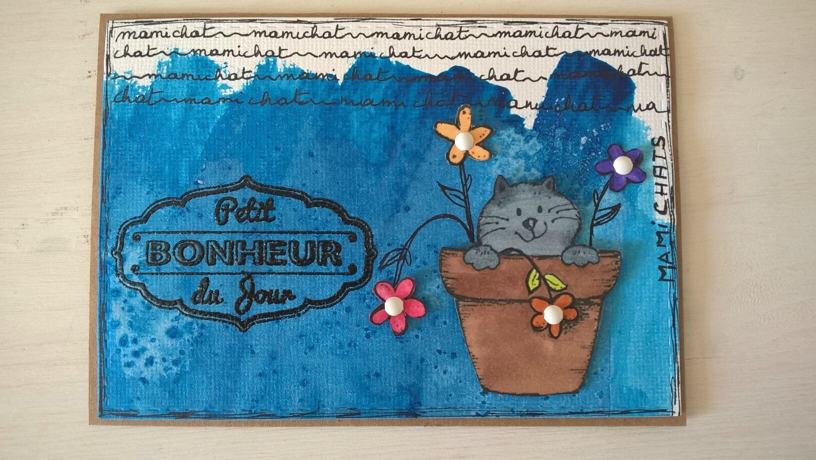 carte chat