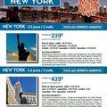 Forfaits à new york