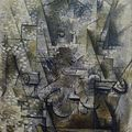 Georges Braque, La nature morte au violon,1911