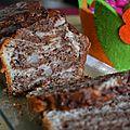Cake au yaourt - poire chocolat