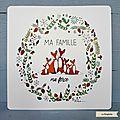 LR21 - Ma famille ma force 5 renards ©La Ringlette