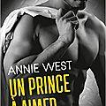 #janvier > un prince à aimer > annie west