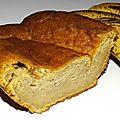 Cake à la banane et à la vanille ( recette minceur weight watchers )
