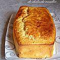 Cake à la compotée de rhubarbe vanillée